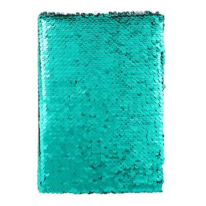 reversible sequin notebook