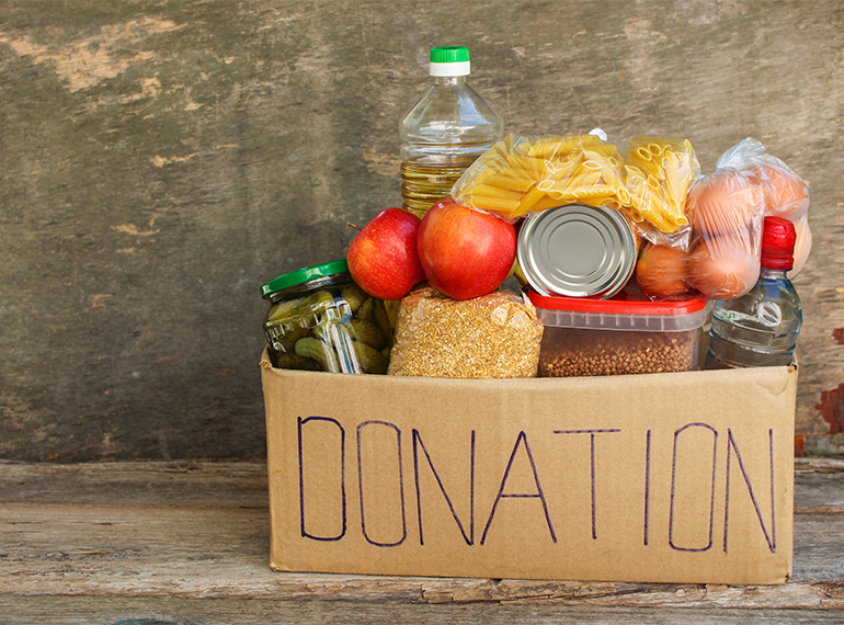 where to donate food Singapore
